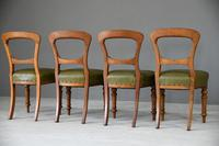 4 Victorian Mahogany Dining Chairs (8 of 12)
