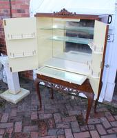 1940's Mahogany Drinks Cabinet on Cab Legs - Well Fitted Interior (3 of 5)