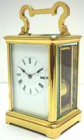 Large Classic Antique French 8-day Gong Striking Repeating Carriage Clock c.1880 (3 of 10)