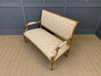 19th Century French Giltwood Settee (15 of 15)