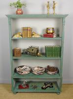 Antique Victorian Painted Bookcase (5 of 8)