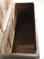 Early 18th Century Oak Panelled Coffer (3 of 7)