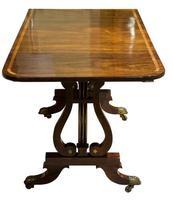 Fine Regency Rosewood Sofa Table (5 of 9)