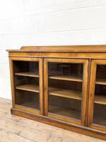 19th Century Glazed Walnut Bookcase (3 of 14)