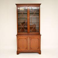 Antique Georgian Period Mahogany Library Bookcase (4 of 10)