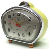Amazing Vintage Japanese Art Deco Bedside Mantle Clock (4 of 8)