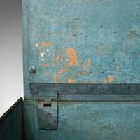 Antique Strongbox, English, Cast Iron, Safe, Deposit Case, Victorian c.1850 (11 of 12)