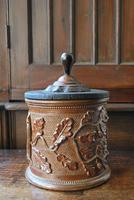 Antique French Stoneware Tobacco Jar (4 of 7)
