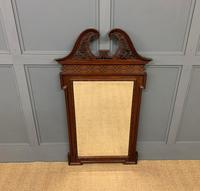 Chippendale Style Mahogany Mirror (2 of 6)