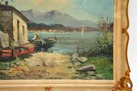 Antique Italian Landscape Oil Painting by Tardini (5 of 10)