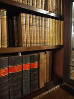 Large George III Style Mahogany 6 Door Cabinet Bookcase (11 of 17)
