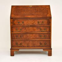 Antique Burr Walnut  Writing  Bureau (8 of 12)