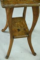 Liberty Carved Japanese Side Table (5 of 12)