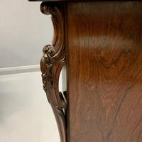 Gillows Serpentine Rosewood Sideboard (3 of 10)
