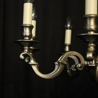 French Silver Plated 8 Light Chandelier (8 of 10)