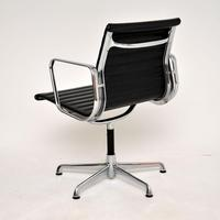 1970's Vintage Charles Eames Ea108 Leather Desk Chair by Icf (5 of 12)