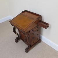 Walnut Davenport Desk (6 of 9)