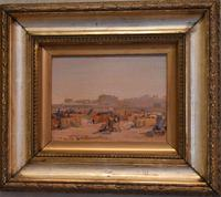 Impressionist Oil Painting of Lowestoft Beach (3 of 8)