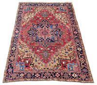 Antique Heriz Carpet 3.20m x 2.37m (2 of 10)