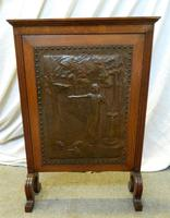 Arts & Crafts fire screen (4 of 5)