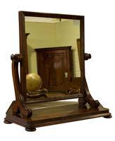 William IV Mahogany Dressing Table Mirror c1830 Code: