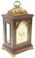 Stunning Burr Walnut Basket Top Bracket Clock by Charles Frodsham Clock Makers to The King (10 of 12)