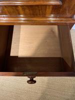 Small Victorian Mahogany Linen Press (9 of 11)