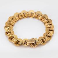 Vintage 18 Carat Gold Bracelet c.1960 (2 of 6)