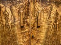 Burr Walnut Art Deco Double Wardrobe (4 of 12)