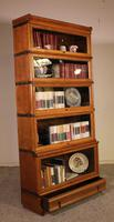 Globe Wernicke Bookcase Called Stacking Bookcase in Oak - 5 Items (8 of 9)