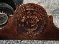 Important Pair Savonarola Walnut Chairs (6 of 7)