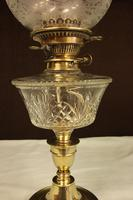 Antique Victorian Oil Lamp & Shade (12 of 12)