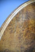 Antique Victorian Burr Walnut Tilt Top Table (8 of 12)