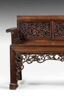 Mid 19th Century Chinese Hardwood Sofa (3 of 9)
