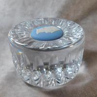 Wedgwood Jasperware & Crystal Paperweight (3 of 5)