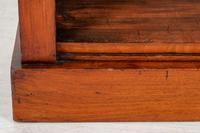 Plain Victorian Mahogany Open Bookcase (5 of 7)