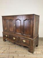 18th Century Welsh Oak Carmarthenshire Coffer (2 of 20)