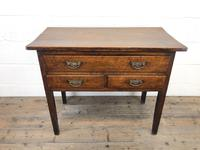 Early 19th Century Oak Lowboy Side Table (7 of 13)
