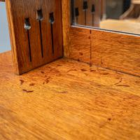 Arts & Crafts Mirror Backed Sideboard (10 of 14)