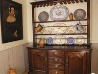 18th Century Oak Cupboard Dresser & Rack c.1760 (2 of 13)