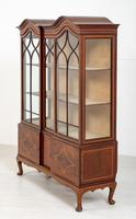 Quality Sheraton Revival Mahogany Display Cabinet (8 of 9)