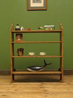 Antique Pine Display Shelves, small open kitchen shelves (12 of 13)