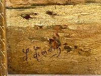 """Pair of Victorian Oil Paintings """"Cockle Pickers"""" Female Figures on Beach Shoreline (9 of 33)"""