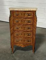 Quality French Marquetry Taller Chest of Drawers (2 of 15)