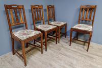 4 Arts & Crafts Chairs