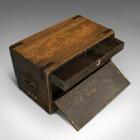 Antique Cobbler's Chest, Pine, Tool Trunk, Coffee Table, Victorian c 1900 (9 of 12)