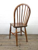 Pair of Antique Hoop Back Farmhouse Chairs (13 of 13)