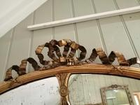 Fine Quality 19th Century Oval Gilt Marginal Mirror (6 of 6)