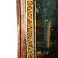 Georgian Style Burr Walnut Mirror (8 of 8)