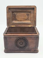 Antique Balian Hand Carved Wooden Box - Highly Ornate (4 of 5)